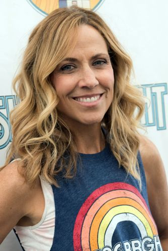 Sheryl Crow backstage at Isle of Wight Festival 2018